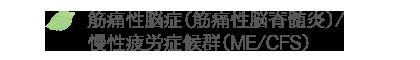 筋痛性脳症(筋痛性脳脊髄炎)/慢性疲労症候群(ME/CFS)